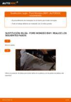 Cambiar Bujía de Encendido FORD MONDEO: manual de taller