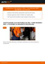 Come cambiare è regolare Filtro dell'olio FORD MONDEO: pdf tutorial