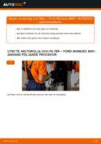 Steg-för-steg Ford Mondeo b5y reparationsguide
