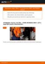 Kiedy wymienić Filtr olejowy FORD MONDEO III Estate (BWY): pdf poradnik
