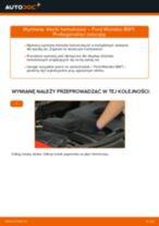 Wymiana Klocki Hamulcowe FORD MONDEO: instrukcja napraw