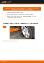 FORD Čap riadenia vymeniť vlastnými rukami - online návody pdf
