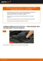 Ako vymeniť predné brzdové kotúče na Ford Mondeo BWY – návod na výmenu