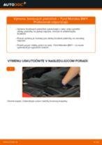 Kedy meniť Brzdové doštičky FORD MONDEO III Estate (BWY): pdf príručka