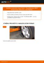 Jak vyměnit kulový čep řízení na Ford Mondeo BWY – návod k výměně