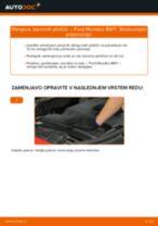 Naučite se odpraviti težave z spredaj in zadaj Zavorne Ploščice FORD