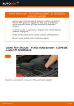 Elülső féktárcsák-csere Ford Mondeo BWY gépkocsin – Útmutató