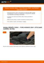 Rokasgrāmata PDF par MONDEO remonts un apkopi