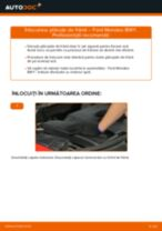 Montare Placute Frana FORD MONDEO III Estate (BWY) - tutoriale pas cu pas