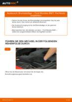 Wechseln von Scheibenbremsbeläge FORD MONDEO: PDF kostenlos