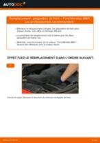PDF manuel de remplacement: Plaquette de frein FORD MONDEO III Break (BWY) arrière et avant