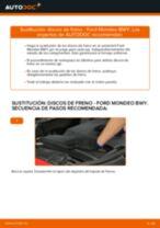 Reemplazar Bombín de freno de rueda FORD MONDEO: pdf gratis