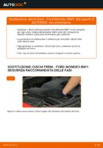 Sostituzione Freni a disco FORD MONDEO: pdf gratuito
