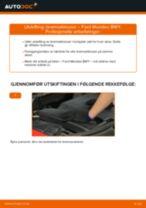 Ford Mondeo mk3 Sedan reparasjon og vedlikehold håndbøker