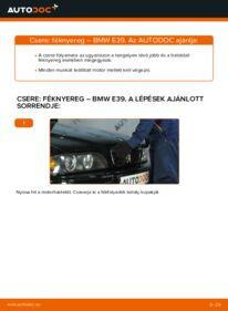 Hogyan végezze a cserét: BMW 5 SERIES Féknyereg
