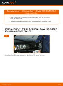 Comment effectuer un remplacement de Étrier De Frein sur 523i 2.5 BMW E39