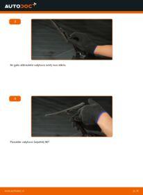 Kaip atlikti keitimą: 2.0 16V Ford Mondeo bwy Valytuvo gumelė
