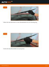 Wie der Wechsel durchführt wird: Scheibenwischer 2.0 16V Ford Mondeo Mk3 tauschen