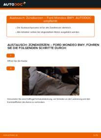 Wie der Wechsel durchführt wird: Zündkerzen 2.0 16V Ford Mondeo bwy tauschen