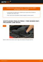 Cambio Pinza Freno posteriore e anteriore FORD FUSION: guida pdf