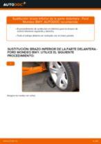 Cómo cambiar y ajustar Cilindro de freno de rueda FORD MONDEO: tutorial pdf