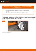 Jak wymienić Zestaw szczęk hamulcowych tylne i przednie VOLVO XC90 - instrukcje online