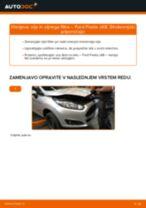 Avtomehanična priporočil za zamenjavo FORD Ford Fiesta ja8 1.4 TDCi Kolesni lezaj