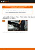 Cómo cambiar: pinza de freno de la parte delantera - Ford Focus MK2 diésel | Guía de sustitución