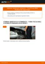Ako vymeniť predné brzdový strmeň na Ford Focus MK2 diesel – návod na výmenu