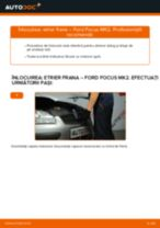 Cum să schimbați: etrier frana din față la Ford Focus MK2 diesel | Ghid de înlocuire