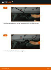 Wie der Wechsel durchführt wird: Scheibenwischer 1.6 TDCi Ford Focus mk2 Limousine tauschen