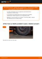 Comment changer : jambe de suspension avant sur Ford Focus MK2 diesel - Guide de remplacement