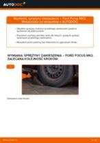 Jak wymienić sprężyny zawieszenia przód w Ford Focus MK2 diesel - poradnik naprawy