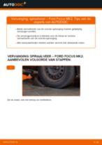 Hoe spiraalveer vooraan vervangen bij een Ford Focus MK2 diesel – vervangingshandleiding