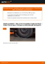 Comment changer : biellette de barre stabilisatrice avant sur Ford Focus MK2 diesel - Guide de remplacement