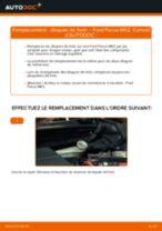 Comment changer : disques de frein arrière sur Ford Focus MK2 diesel - Guide de remplacement