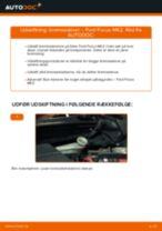 Udskift bremseskiver bag - Ford Focus MK2 diesel | Brugeranvisning
