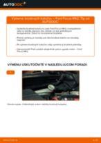 Vymeniť Drżiak ulożenia stabilizátora FORD FOCUS: zadarmo pdf