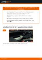 Podrobné PDF tutoriály, jak vyměnit Brzdové Destičky na autě JEEP Renegade BU
