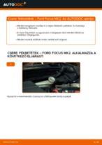 Hátsó fékbetétek-csere Ford Focus MK2 dízel gépkocsin – Útmutató