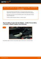 Cum să schimbați: plăcuțe de frână din spate la Ford Focus MK2 diesel | Ghid de înlocuire