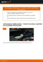Hoe remblokken achteraan vervangen bij een Ford Focus MK2 diesel – vervangingshandleiding