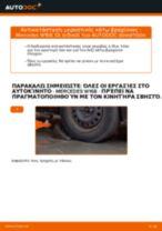 Πώς αλλαγη και ρυθμιζω Ψαλίδια αυτοκινήτου MERCEDES-BENZ A-CLASS: οδηγός pdf