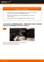 Kühlmitteltemperatursensor wechseln MERCEDES-BENZ A-CLASS: Werkstatthandbuch
