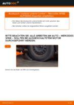 Wie Mercedes W168 vorderer unterer Lenker wechseln - Anleitung