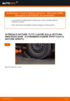 Come cambiare braccio inferiore anteriore su Mercedes W168 - Guida alla sostituzione