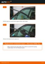 Online manual on changing Bracket, stabilizer mounting yourself on Honda Accord 7 Tourer