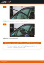 Jak wymienić wycieraczki przód w Mercedes W168 benzyna - poradnik naprawy