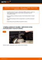 Objevte náš podrobný návod, jak vyřešit problém s zadní a přední Brzdovy buben MERCEDES-BENZ