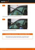 Hoe ruitenwissers vooraan vervangen bij een Mercedes W168 benzine – Leidraad voor bij het vervangen